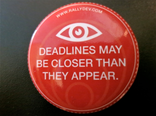 Deadlines button