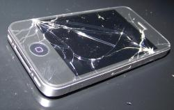 broken iphone