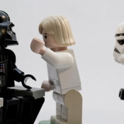 Lego Darth Vader should listen to Luke
